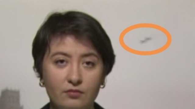 UFO on Live TV during the day on RT Russia Today France.